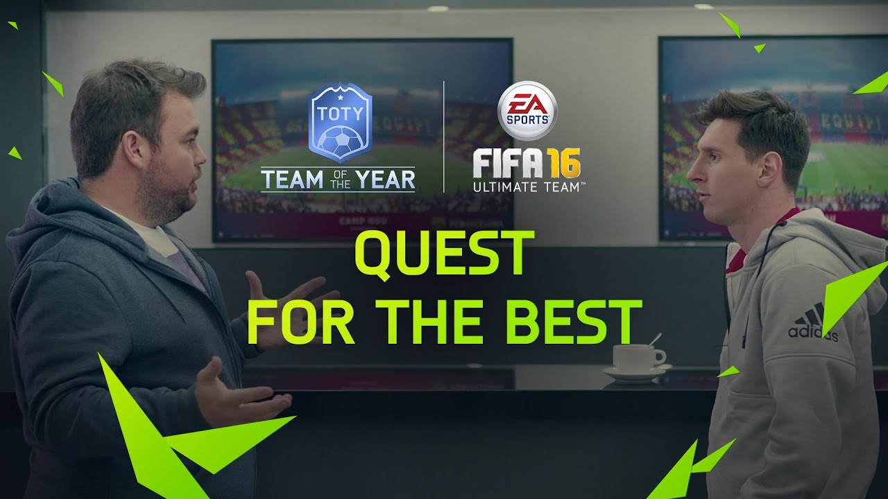 VIDEO: The ultimate FIFA 16 Team of the Year? One man met Lionel Messi and other stars to decide…