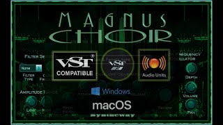 Choir VST Plugin: Magnus Choir, Choral Software by Syntheway Virtual Musical Instruments (Win Mac)