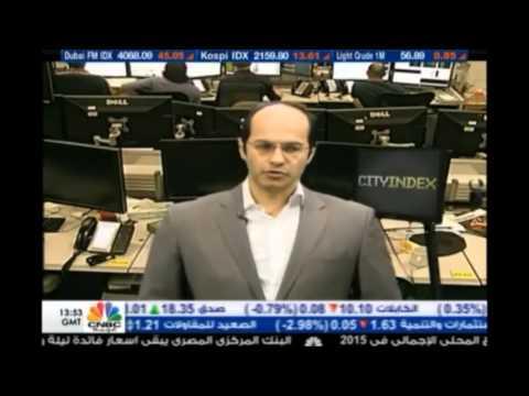 أشرف العايدي في سي أن بي سي العربية - 24 أبريل 2015 Chart