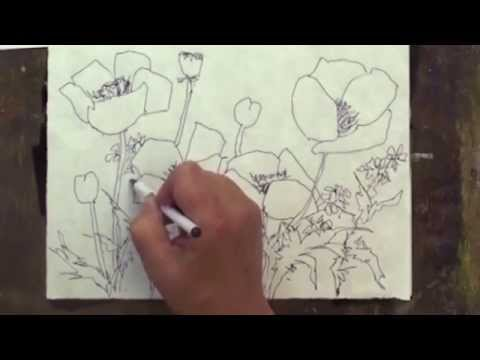 Preview | Watercolor Making Your Mark, Part 1, with Karlyn Holman