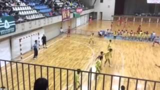 ハンドボール 香椎高校 2015年9月26日 久留米大会