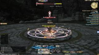 oct 2016 ffxiv blm parse patch 3 4 a12s dummy down 2400 dps food only