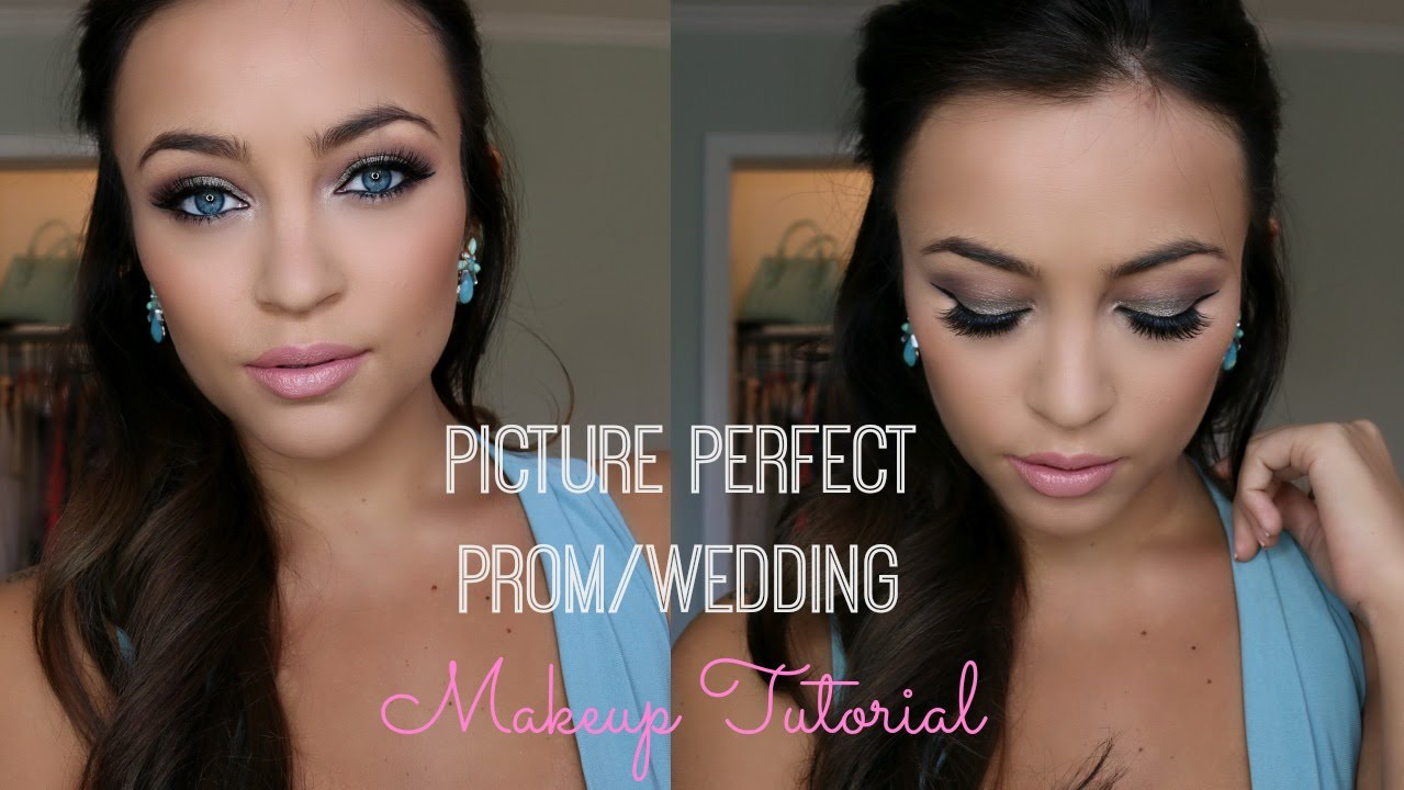 Picture Perfect Makeup Wedding : Picture Perfect Prom/Wedding Makeup Tutorial Stephanie ...