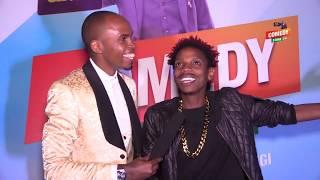 Alex Muhangi Comedy Store Jan 2019 - Eric Omondi