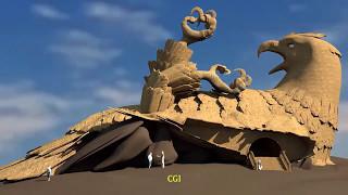 ヒンズー教の聖典に登場する鳥の王「ジャターユ」をイメージした世界最大の鳥の彫刻がファンタスティック!(インド)