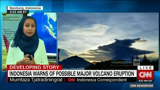 Indonesia Warns Of Possible Major Volcano Eruption; Mount Agung Bali Eruption