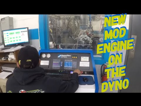 NEW MODIFIED ENGINE ON THE DYNO😲😲😲 At Jay Dickens Racing Engines