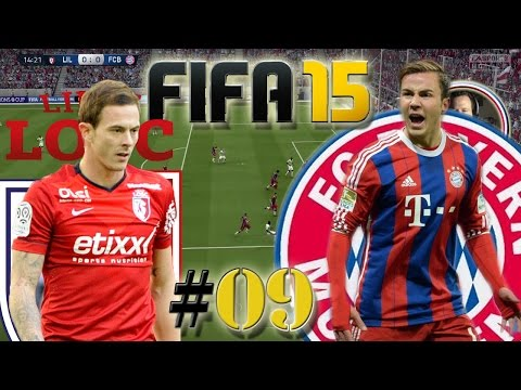 Champions League LOSC Lille VS FC Bayern München (Let´s Play #09) Fifa 15 Trainerkarriere