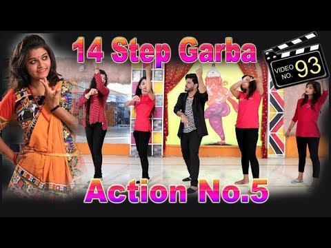 LEARN 14 STEP GARBADODHIYA  ACTION NO5  TUTORIAL VIDEO  Sathiya Garba