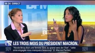Olivia Grégoire sur BFM TV le 07 août 2017