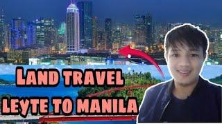 Land Travel Mindanao to Manila 2 (Leyte-Manila)
