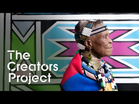 A South African Tradition Comes to the U.S | On Tour with Esther Mahlangu
