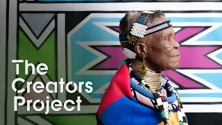 The Creators Project: A South African Tradition Comes to the U.S | On Tour with Esther Mahlangu