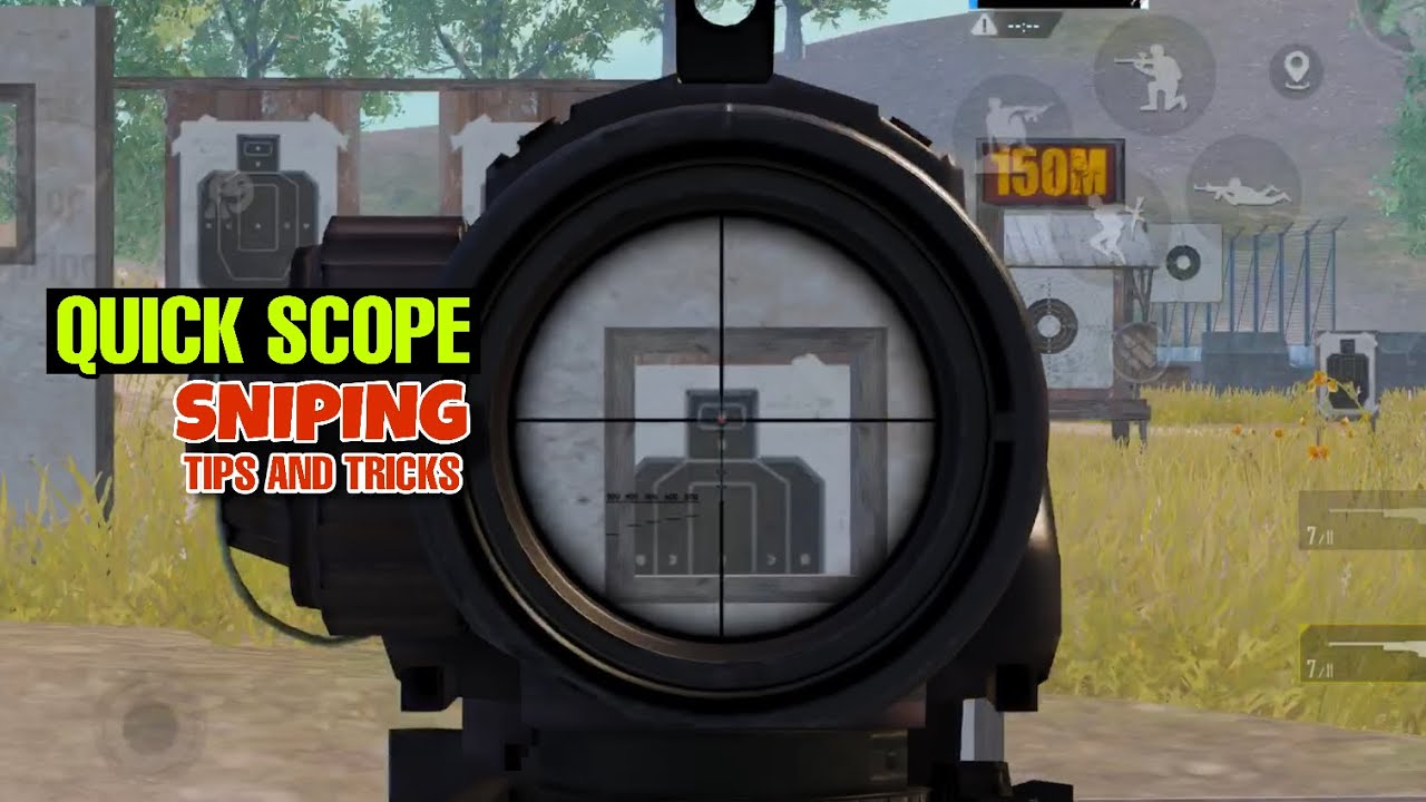 PUBG MOBILE QUICK SCOPE SNIPING GUIDE IN URDU/HINDI | SNIPING TIPS AND TRICKS | PUBG MOBILE