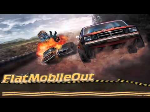 FlatMobileOut (FlatOut for android) gameplay