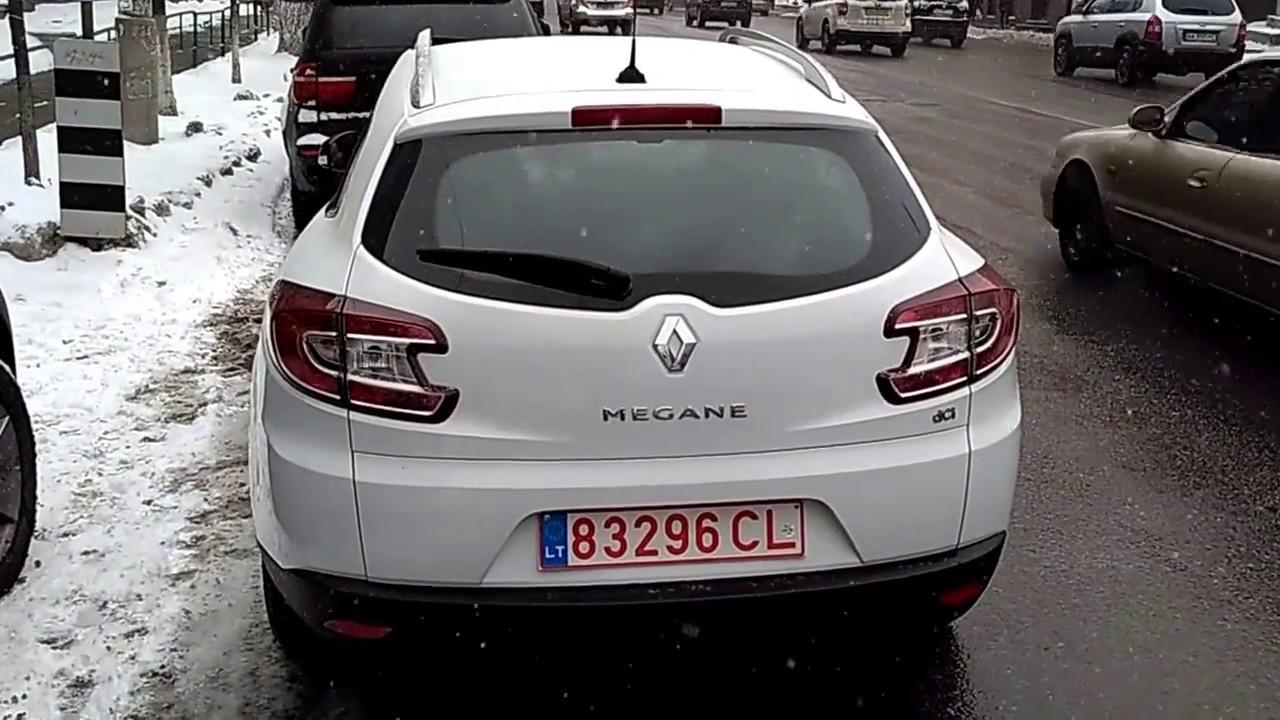 Осмотр Renault Megane 2013 BOSE с проблемным EDC и поддельной .
