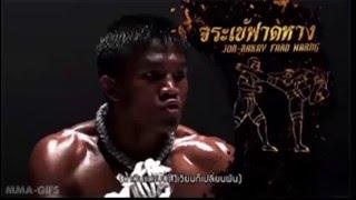 Brutal muay thai techniques by buakaw banchamek - Training for Muay Thai, kickboxing, MMA fight