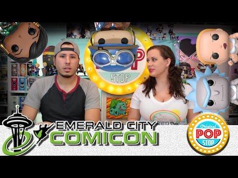 Emerald City Comicon ECCC 2017 FUNKO POP EXCLUSIVES!! BUFF RICK & SUMMER & MORE!!!!