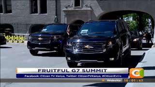 President Kenyatta up for wins from G7 summit #CitizenExtra