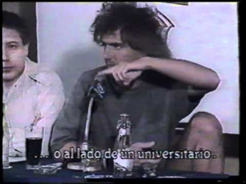 Pat Metheny Group Chile 1987 - Interview