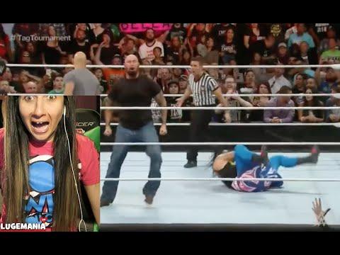 WWE Raw Doc and Karl Bullet Club Attack Usos vs Social Outcast