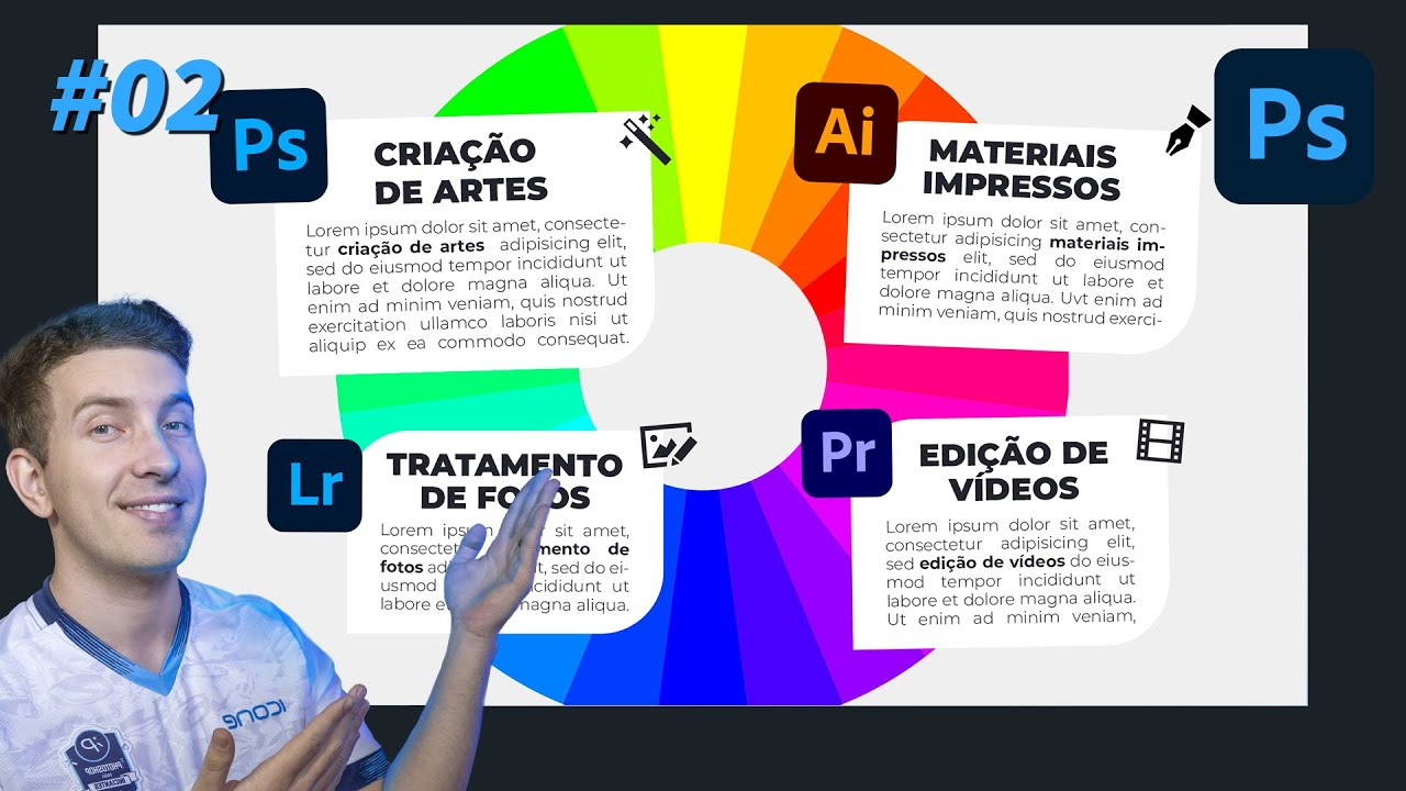 Portfólio: como criar o seu no Photoshop #02