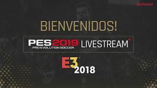 PES 2019 E3 2018 day three livestream [ESP]