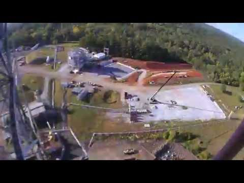 New Marshall Center Test Stand 4697 Construction Time-Lapse