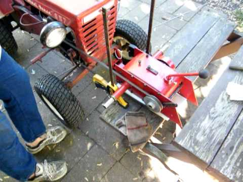 How To Bench Test A Wheel Horse Transmission 1 Youtube