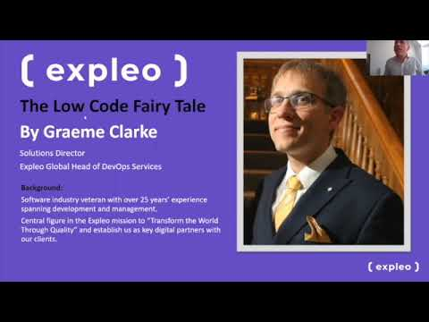 Where low code can go wrong and how to get it right - The Low Code Fairy Tale by Graeme Clarke