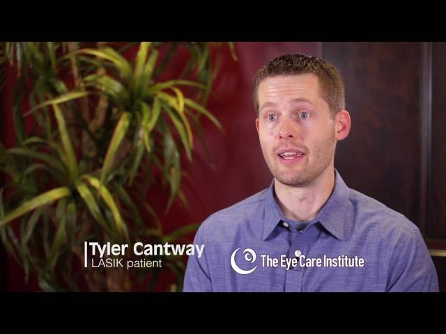 Tyler's LASIK Experience with The Eye Care Institute