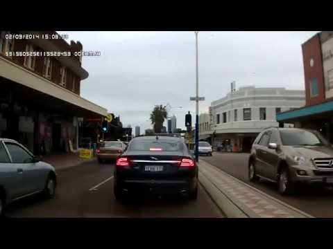 Driving in Perth - Morley to West Leederville