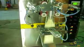 Granules ( Besan, Atta, Turmeric powder etc.) Packaging Machine - Indian Machine Mart