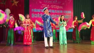 Màn chào hỏi hội thi - trung tâm Chăm sóc sức khoẻ sinh sản Thanh Hoá