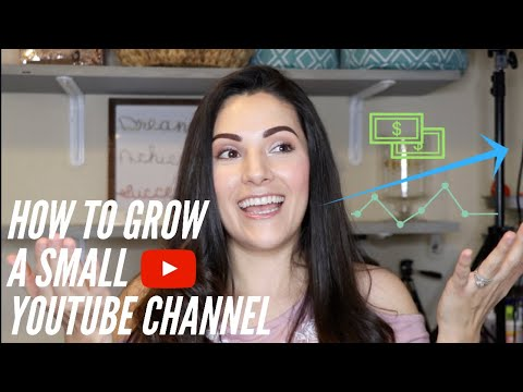 How To Grow A Small YouTube Channel | Realistic Ways To Grow Your Channel