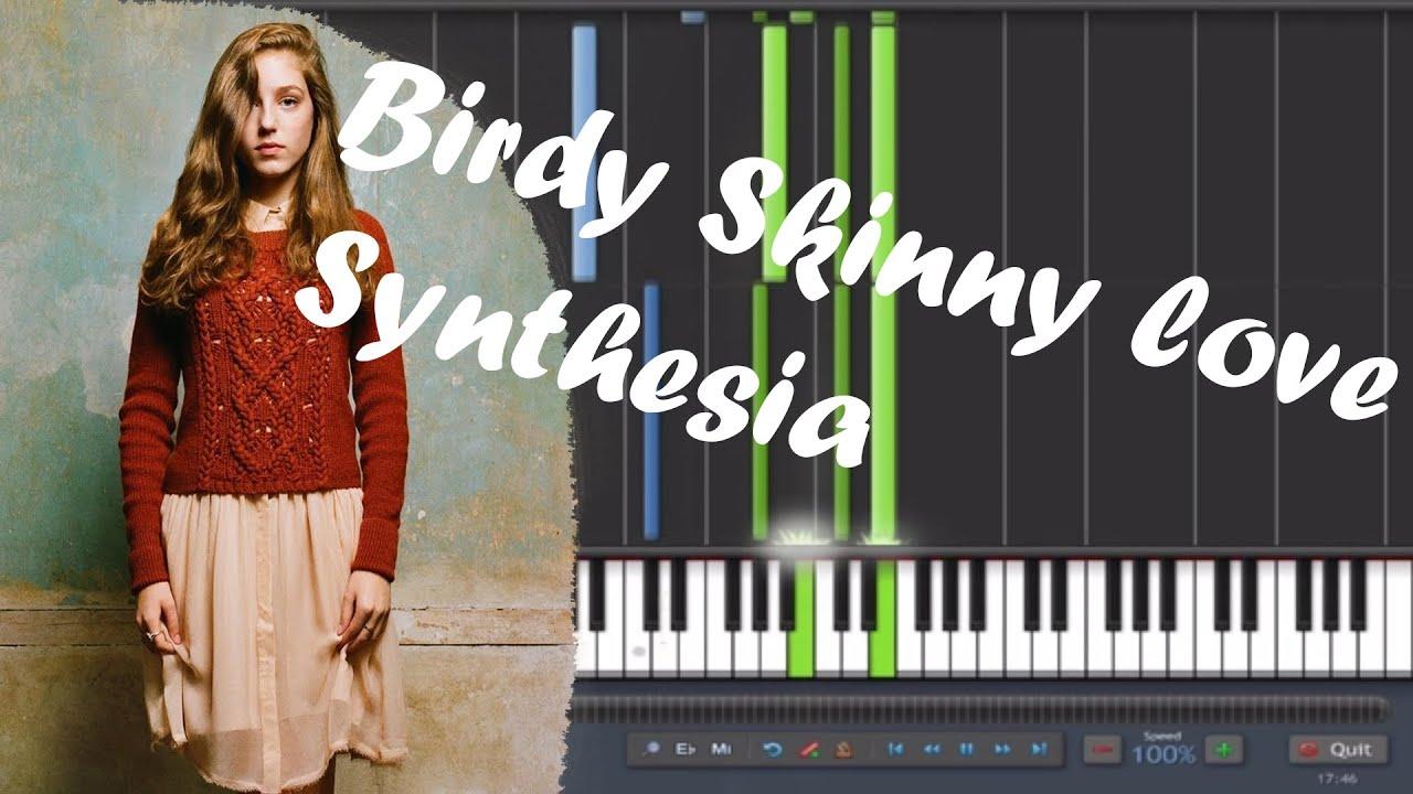 Birdy - Skinny Love synthesia