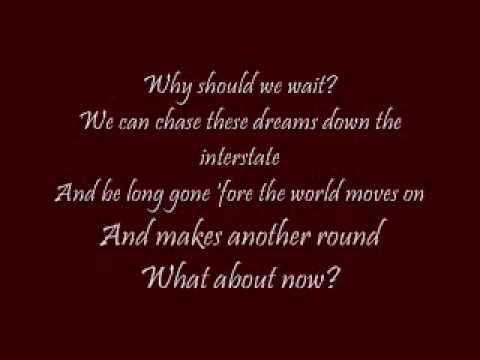 What About Now Lonestar with lyrics - YouTube