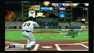 MLB 11 The Show (PS2) - Dodgers Vs Giants 3 Inning Game