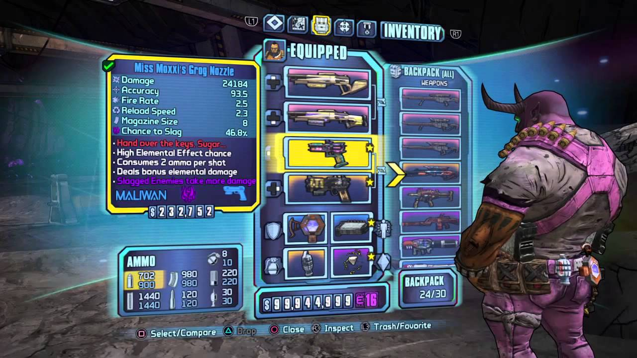 borderlands how to make your own weapons