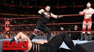 Roman Reigns & Kevin Owens vs. Cesaro & Sheamus: Raw, Nov. 14, 2016