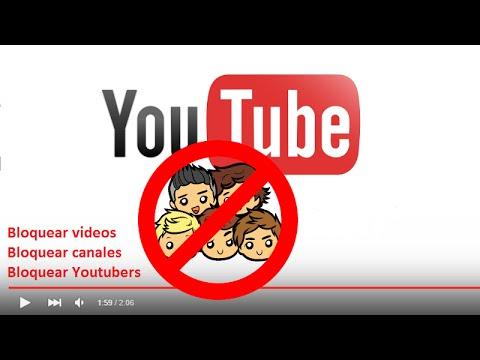 Como Bloquear Los Videos O Canales Específicos De Youtube Que No Te Gusten Youtube