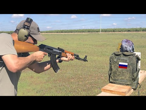Russian Military Body Armor Test 🇷🇺