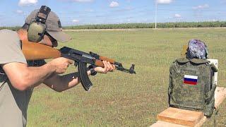 Тест на бронежилетка, която се използва в руската армия! Да видим как ще се представи!