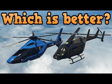 GTA online guides - Volatus VS SuperVolito