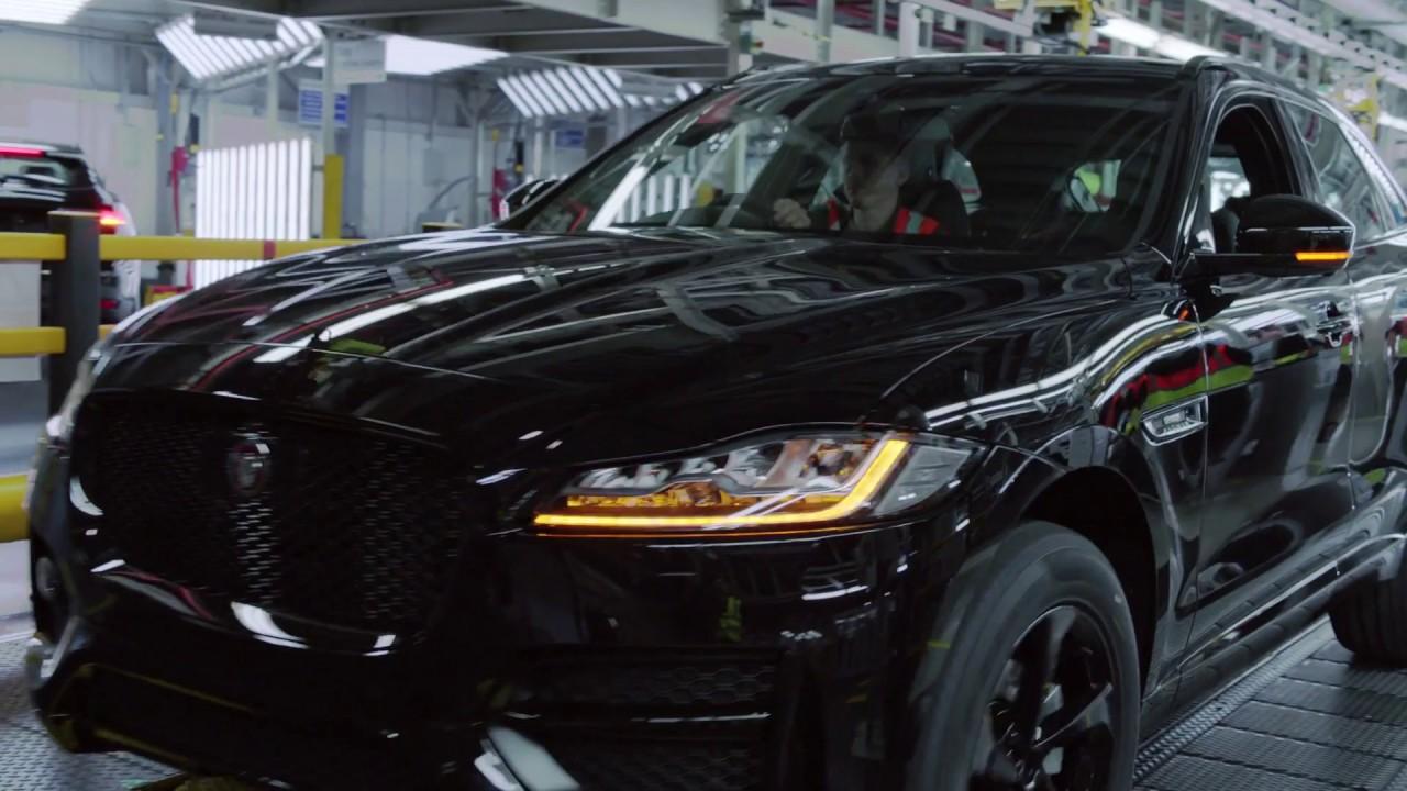 โชเซ่ มูรินโญ่ ร่วมผลิต Jaguar F-PACE คันที่ 1 แสน
