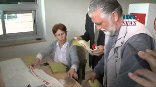 Voting for Turkish general election begins at Kapikule border crossing