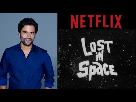 Netflix Lost in Space Set Visit: Ignacio Serricchio