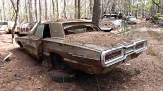 брошенные автомобили авто классика
