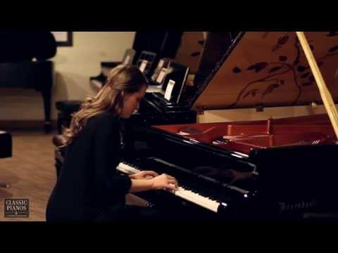 Kelsey Keogh performs Edelweiss on the Schonbrunn  Bösendorfer Piano at Classic Pianos