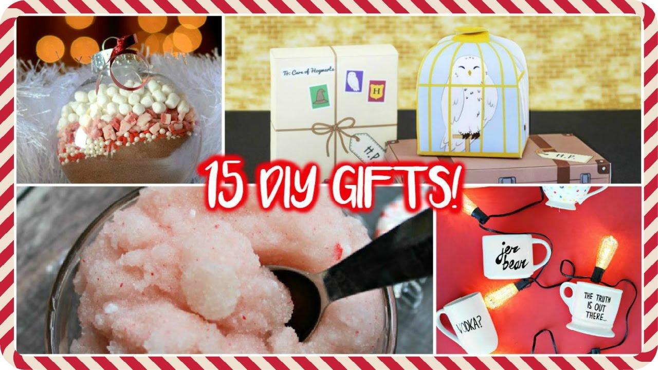 15 idee regalo fai da te per natale - youtube